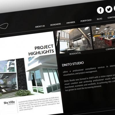 Company Porffolio Website